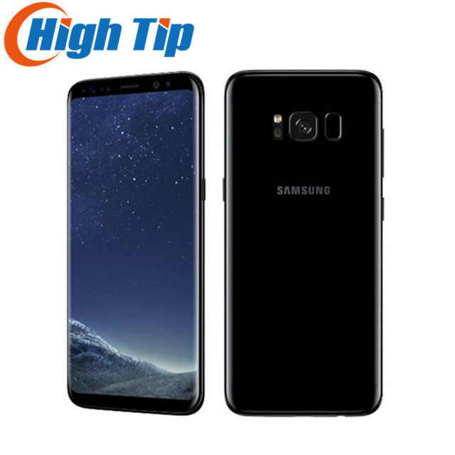 "Téléphone portable Android Samsung Galaxy S8 G950U 4G LTE débloqué d'origine Octa Core 5.8 ""empreinte digitale 12MP 4 GB ROM 64 GB 3000 mAh"
