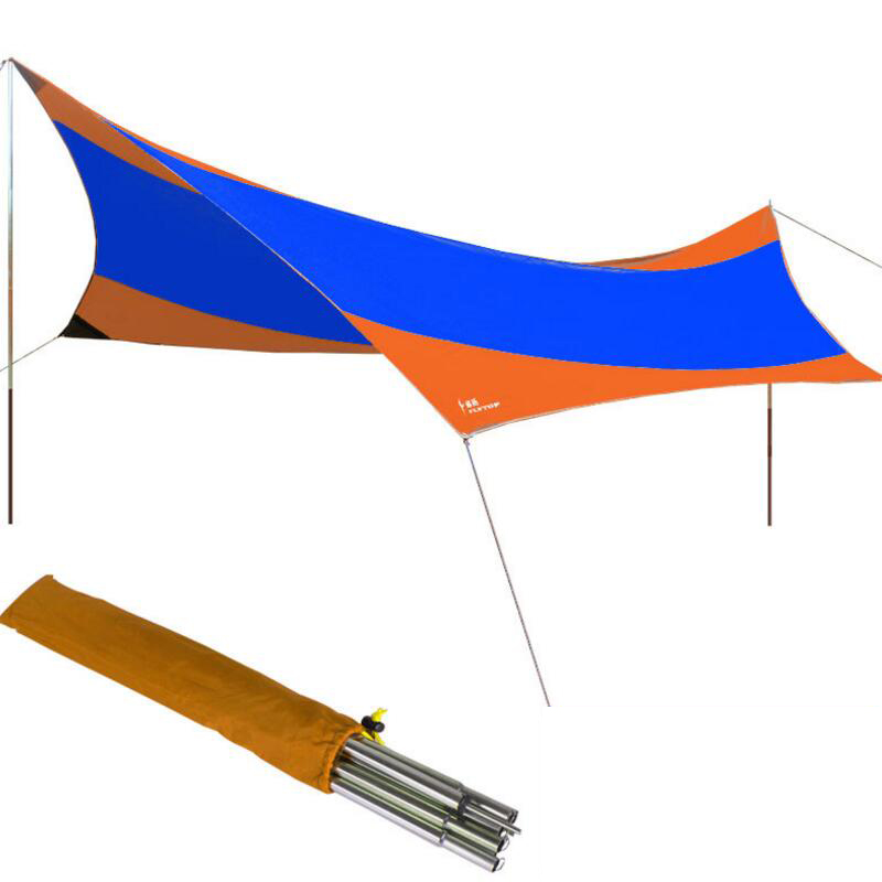 FLYTOP Recreation Outdoor Tent Shelter The Sun Awning Collapsible Gazebo Canopy Beach Tents C&ing Sun Shade C&ing Tent-in Tents from Sports ...  sc 1 st  AliExpress.com & FLYTOP Recreation Outdoor Tent Shelter The Sun Awning Collapsible ...