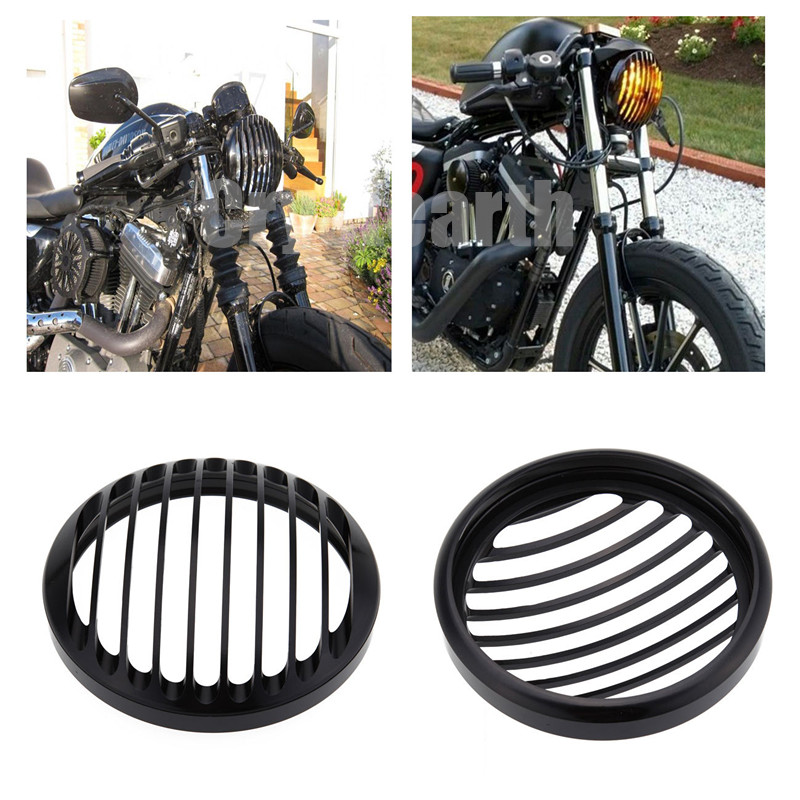 5-3/4 5.75 Inch Daymaker Projector LED Headlight 5 3/4 Headlight Grill Cover For Harley Sportster XL 883 1200 Headlight 5 3/4 mtsooning timing cover and 1 derby cover for harley davidson xlh 883 sportster 1986 2004 xl 883 sportster custom 1998 2008 883l