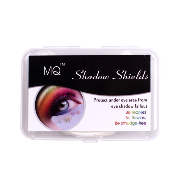 60pcs/box Big Promotion Beauty Eye Shadow Shields Disposable Makeup Application Safety for Perfect Eye Shadow Protect Eye