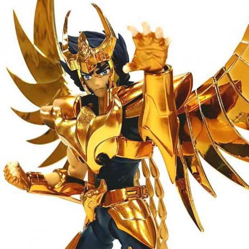 Great Toys PTC Saint Seiya Cloth Myth Ex Ikki Phoenix V3 Gold Ver Action Figure GT015G