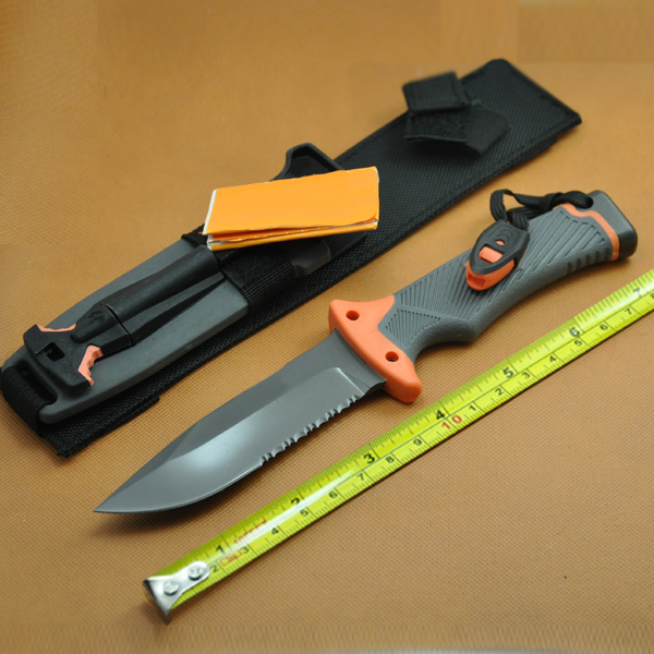 Tactical Folding Knife 9Cr17 blade G10 Rubber Handle Tactical Survival Hunting EDC Knifes B