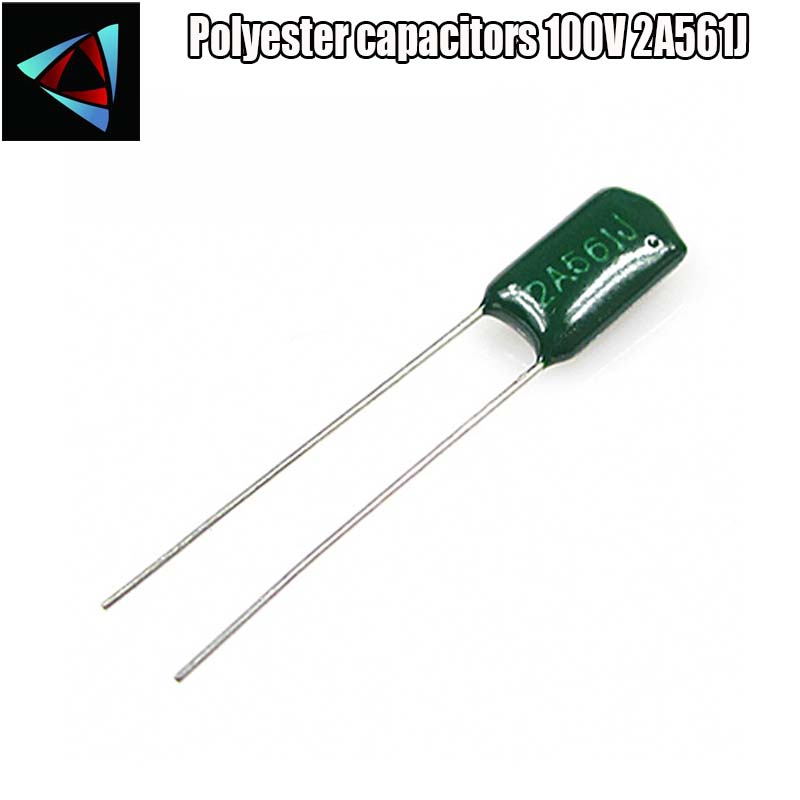 Pack of 10 Polyester Box Capacitor 150nF 63V