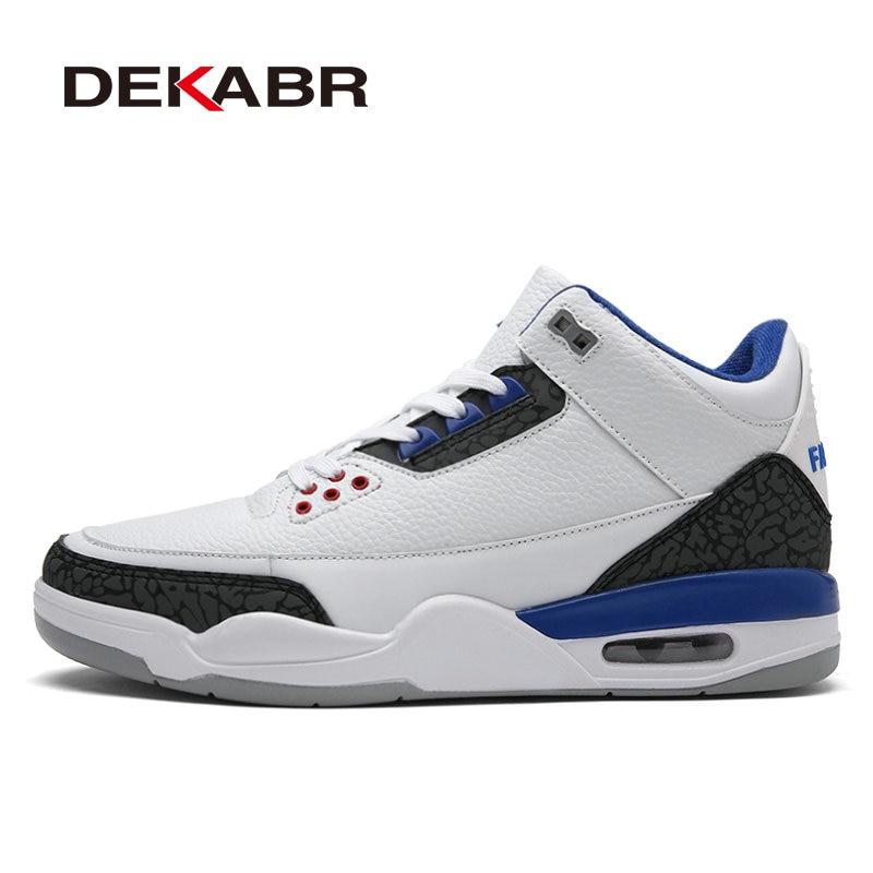 DEKABR Newest Professional Men Basketball Shoes 2017 Male Sport Shoes Anti-slip Outdoor Athletics Sneakers Plus Size Size 39~47