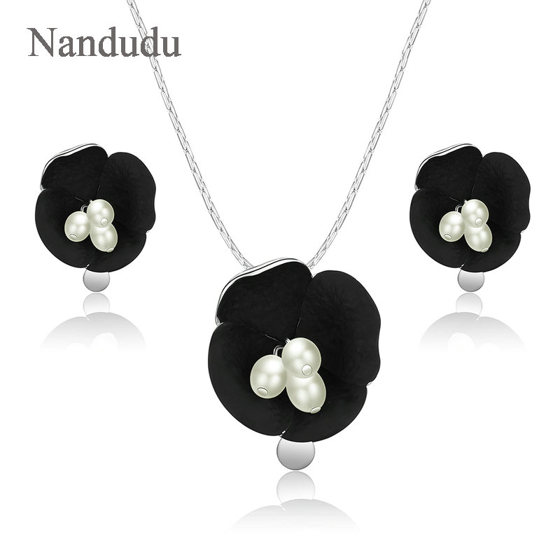 Nandudu Black Flower...