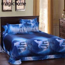 3D Galaxy Home Bedding Set Twin Queen Universe Outer Space Themed With Pillowcase Bed Linen Flat Sheet 3pcs/4pcs Duvet Cover Set(China)