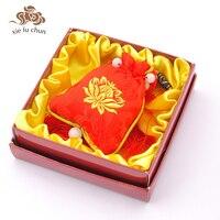 Xiefuchun Classic Scented Sachet Car Wardrobe Drawer Perfume Long Lasting Natural Incienso Embroidery Slik Fragrant Bags