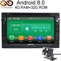4G ram Android 8,0 автомобиль DVD для VW Passat B5 Гольф 4 поло Бора Jetta Shara T5 Octa Core 32G ROM радио gps плеер головное устройство