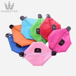 Image 4 - 10 צבעים ב 1 סט נשים נסיעות תיק קוסמטי אמבט ארגונית איפור שקיות תיק נייד מקרי נשי רוכסן פאוץ אחסון תיק