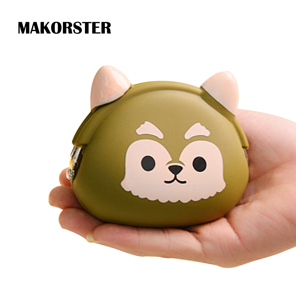 MAKORSTER Coin Wallet Cute Purse Pouchs For Travel Ladies Pouch Women Coin Purses Holders female bag Trousse Kawaii MK121
