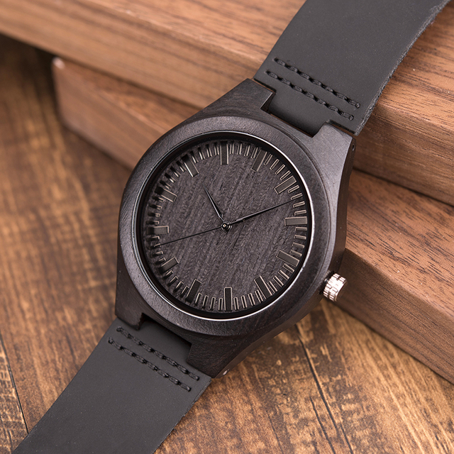 Engraved Wooden Watches For Husband 2
