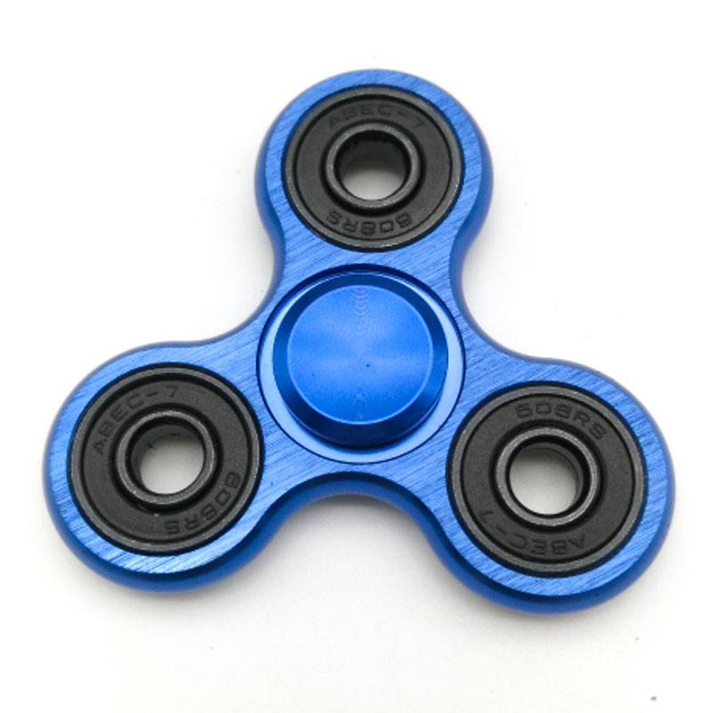 Top Handspinner Stress Relief Toy For Kids Gifts Finger Spinner Hand Tri Spinner Metal  Spinner