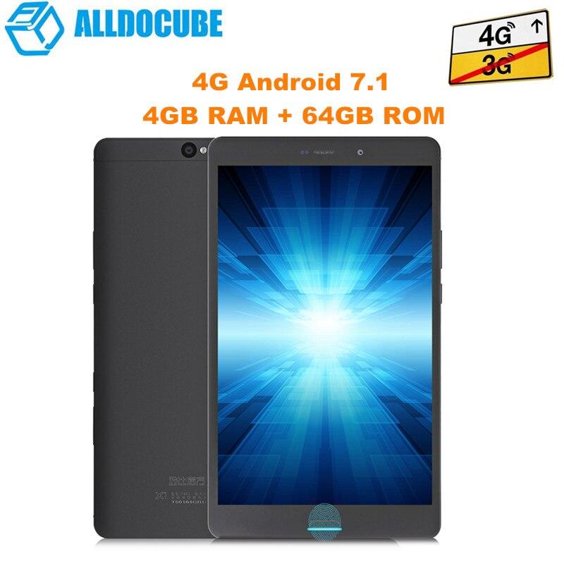 ALLDOCUBE X1 tablettes d'appel téléphonique 4 GB 64 GB 2560*1600 MTK X20 MT6797 Deca Core Cube X1 8.4 pouces Android 7.1 double 4G tablette Pc