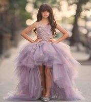 Custom Flower Girl Dress Princess Party Pageant Wedding Bridesmaid Dance Dress