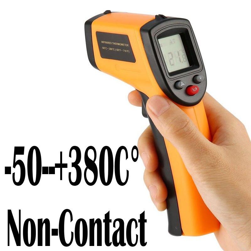Thermomètre infrarouge Laser numérique sans Contact thermomètre de cuisine pyromètre infrarouge pour usage domestique