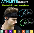 Оригинал Спорт наушники Спортсмен Даком Bluetooth 4.1 гарнитура Беспроводные наушники спорт стерео наушники с микрофоном и NFC