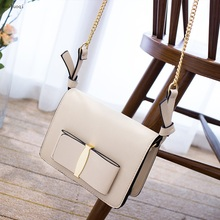 Famous Designer Brand Bags Women PU Leather Handbags Fashion Chains Shoulder Bag Solid Sequins Flap High Quality Bag Luis Vuiton