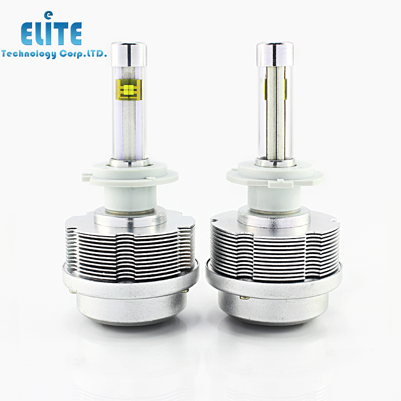 30W 2S H7 Car Led Headlight ETI Flip Chips 3600 Lumens GTI JETTA PASSAT GOLF TIGUAN C-CAR 12V 24V IP68 - ETC LED Retrofit Store store