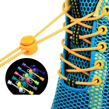 1 pair Lazy Laces Sneaker ShoeLaces Elastic Shoe  accessories lacets Shoestrings Running/Jogging/Triathlone