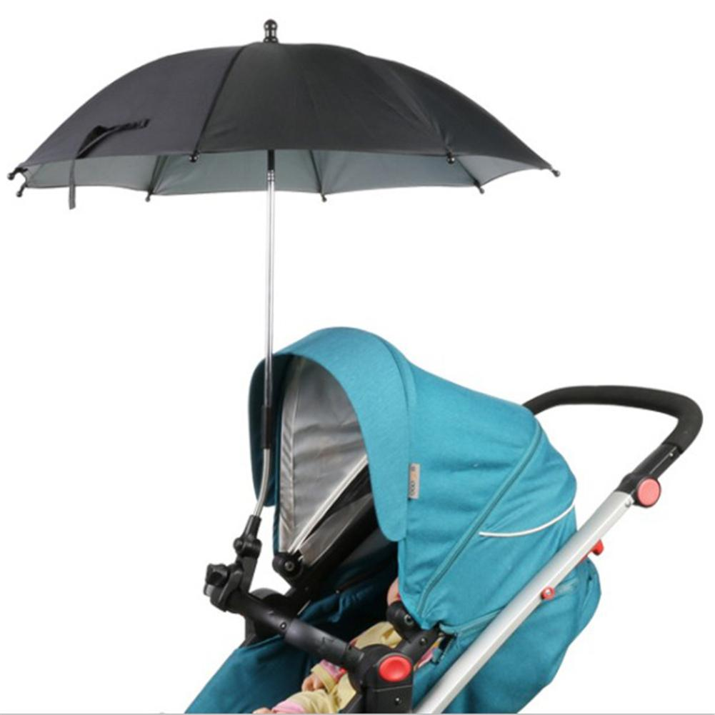 Baby Pram Umbrella 2019 Kids And Baby Umbrella Baby Stroller Waterproof Sunshade Stroller Pram Umbrella Protection Pam Holder To Kids From Newestable 40 16