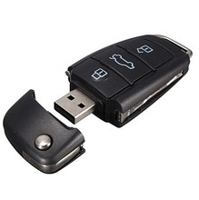 16กิกะไบต์32กิกะไบต์64กิกะไบต์128กิกะไบต์USB 2.0กุญแจรถPendrivesรุ่นหน่วยความจำแฟลชติดจัดเก็บข้อมูลUsbแฟลชไดรฟ์สำหรับออดี้ในกล่องของขวัญไดรฟ์ปากกา