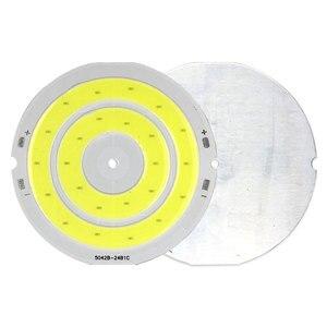 Image 3 - 3 فولت 4 فولت مستدير COB مصباح ليد 50 مللي متر قطر حلقة مزدوجة الباردة الأبيض LED مصباح 3.7 فولت 5 واط 7 واط COB رقاقة لمبة ل Work بها بنفسك العمل منزل ديكور أضواء