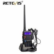 Retevis RT5R Handy Walkie Talkie Dual Band VHF UHF VOX FM Ham Radio Amador Two Way