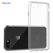 ithuriel For iPhone 7 Case,Transparent TPU Plus Case Cover Shock-Absorption Bumper and Anti-Scratch Clear Back