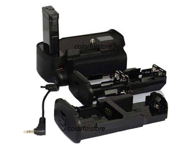 New Vertical Power Shutter 2-Step Battery Handle Hand Grip Pack For Nikon D5500 Digital SLR as MB-D31 MBD31 + AA Battery Holder new arrival battery handle hand grip pack holder vertical power shutter for nikon d750 camera as mb d16 2 x en el15 car charger