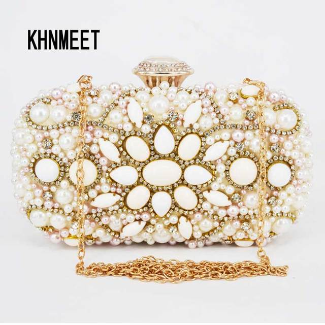 Women Beaded Evening Bag