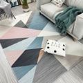 Alfombras modernas alfombra minimalista Para sala de estar alfombra nórdica decoración del hogar Accesorios Tapetes Para Banheiro