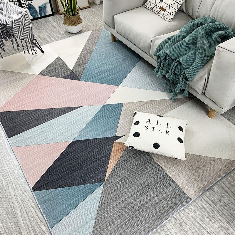 Tapis moderne tapis minimaliste pour salon tapis de sol nordique décoration de la maison accessoires tapis Tapetes Para Banheiro