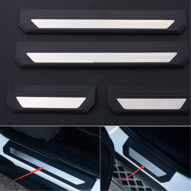 OLIKE For Honda HR-V HRV 2015 2016 2017 Car Stainless Steel Door Sill Scuff Plate Guard Sills Protector Trim