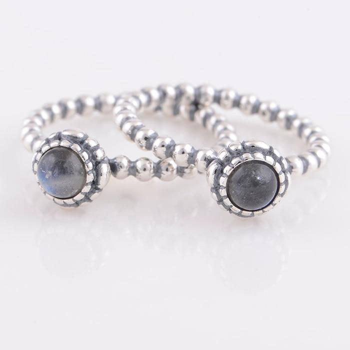 anillos pandora con piedras