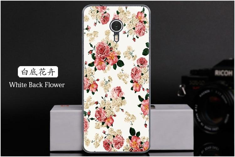 White Back Flower