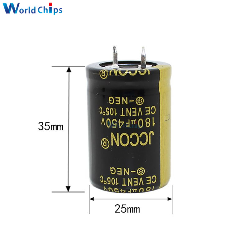 High Frequency 450V 1000uF Aluminum Electrolytic Capacitors Volumes 35x60