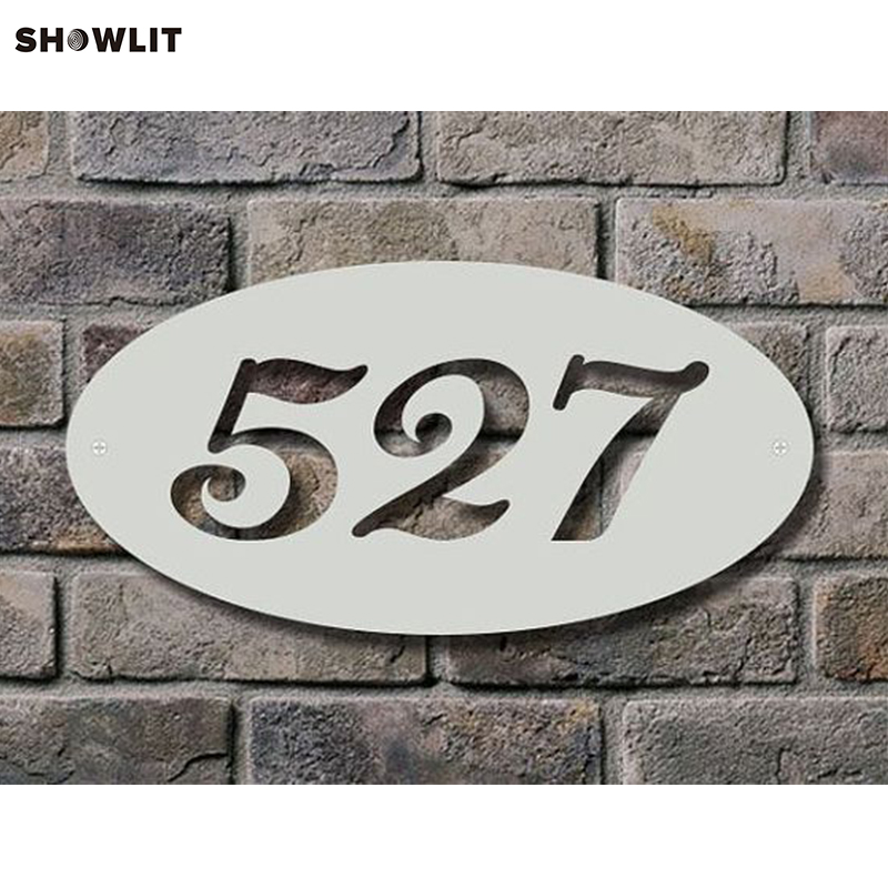 Large Laser Cut Stainless Steel House Sign/Plaque недорго, оригинальная цена