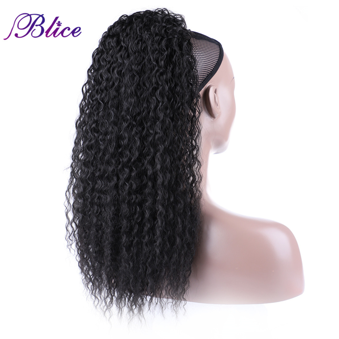Blice Synthetic Afro Kinky Curly Hair Ponytail 18