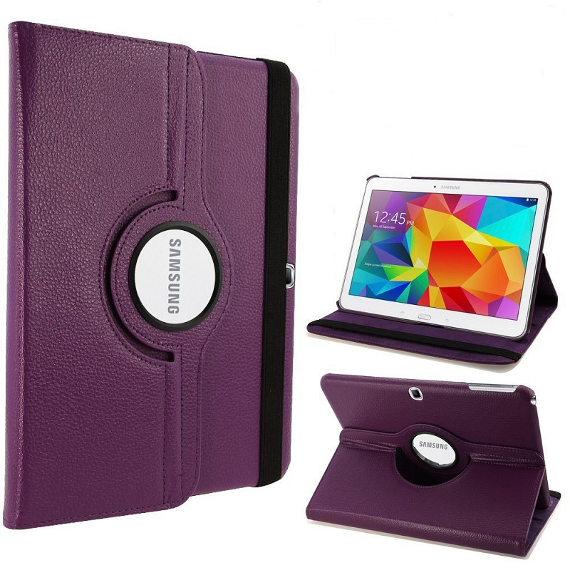 Case For Samsung Galaxy Tab 4 10.1 SM-T530 SM-T531 T535 Cover TAB 4 10.1 T530 360 Degree Rotation PU Leather Stand Holder CasesCase For Samsung Galaxy Tab 4 10.1 SM-T530 SM-T531 T535 Cover TAB 4 10.1 T530 360 Degree Rotation PU Leather Stand Holder Cases