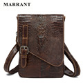 MARRANT Casual Genuine Leather Men Messenger Bags Famous Brand Fashion Alligator Men Crossbody Bag High Quality Men Shoulder Bag