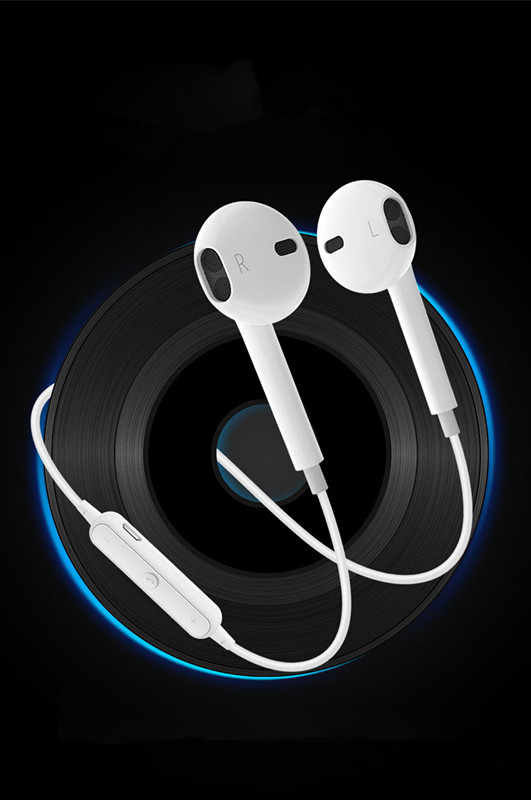 Bluetooth Earphone With MIC Sweatproof Gym Sport HIFI Wireless Earphones Bass Headphones For Xiaomi For Iphone