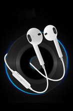 Bluetooth Earphone With MIC Sweatproof Gym Sport HIFI Wireless Earphones Bass Headphones For Xiaomi For Iphone vrme super bass sport earphone hifi headphone wireless bluetooth 4 0 sweatproof running gym exercise headset with microphone nfc