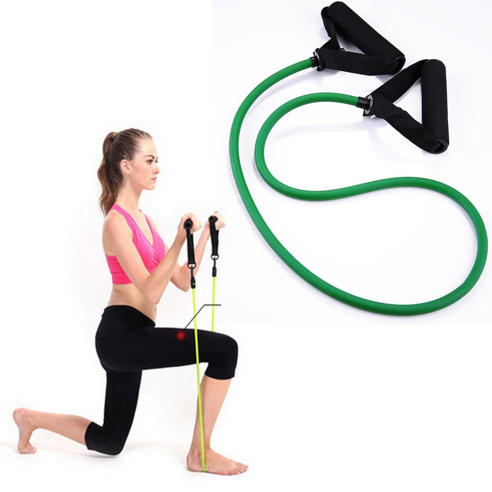 GCAILIAOSHIYOU Bandas de Resistencia de Cuerda de tir/ón de Yoga de 120 cm Banda de expansi/ón