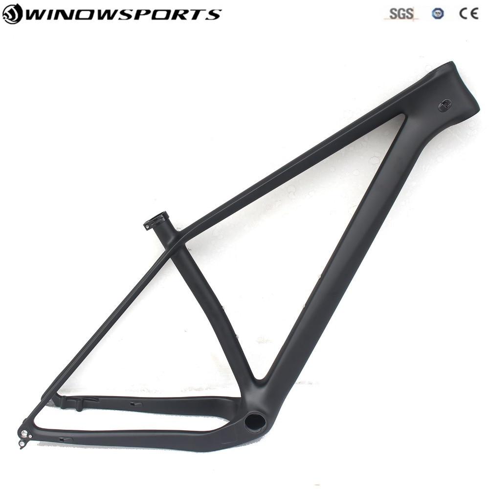 29er Plus 148x12 axle thru Boost MTB carbon frame 29 inch size 15/17/19
