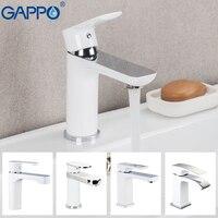 GAPPO chrome basin faucet brass mixer Bathroom sink faucet Deck Mount Bath taps Faucet Water Sink tap crane torneira do anheiro