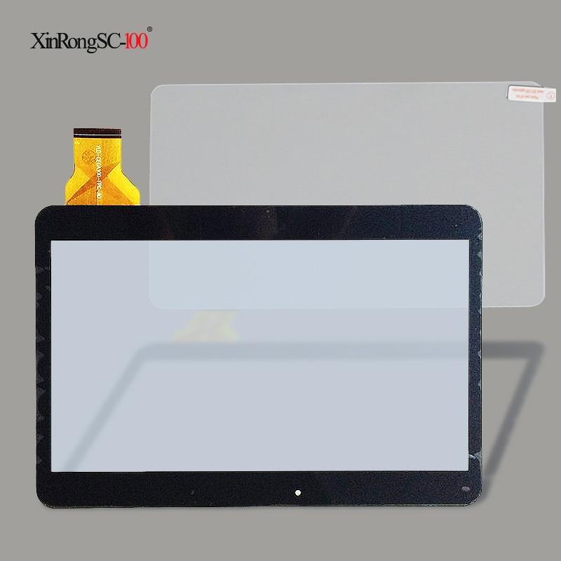 En verre trempé protecteur film + nouveau 10.1 ''tablet OVERMAX QUALCORE 1030 4G écran tactile numériseur tactile panneau de verre capteur