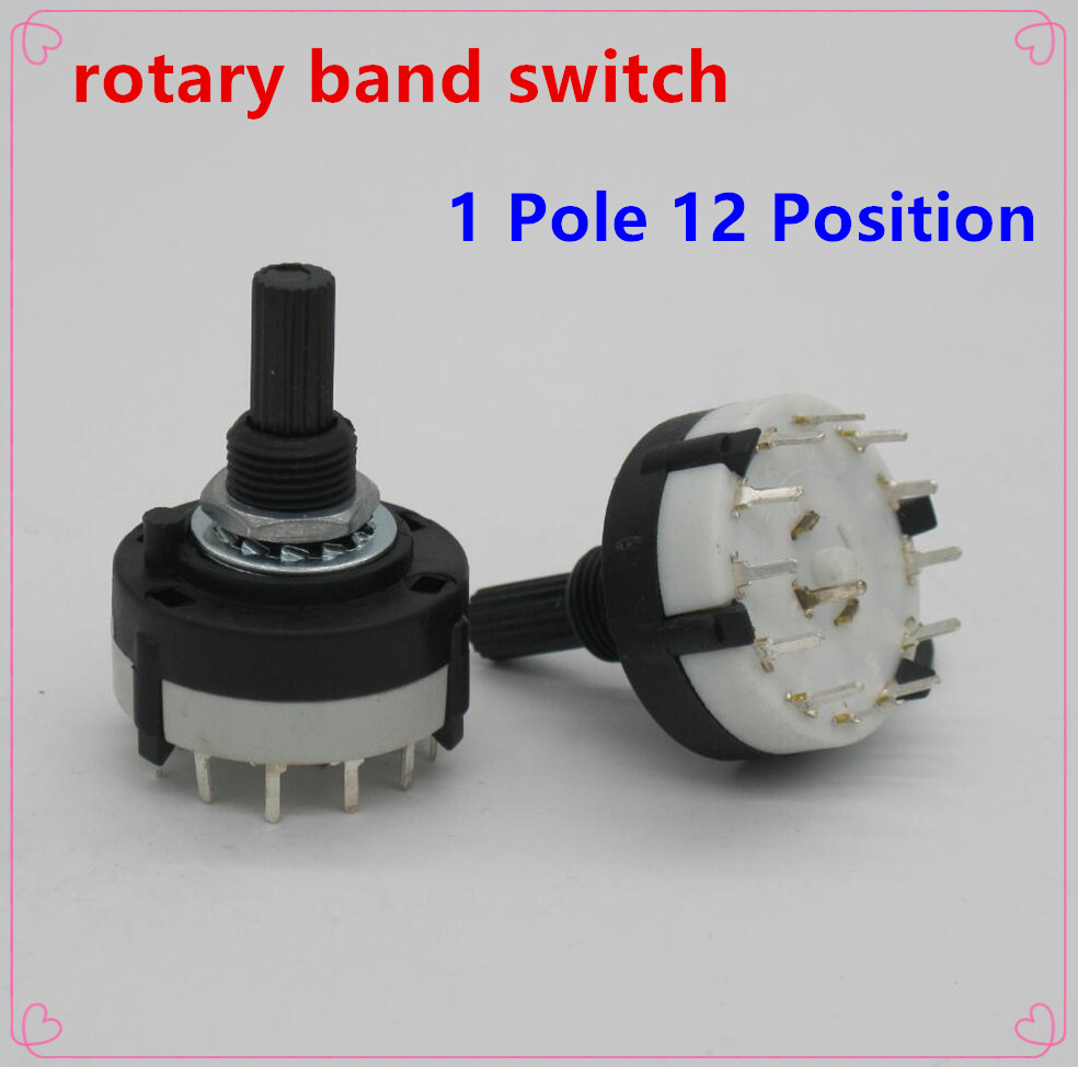 2pc High quality RS26 1 Pole Position 12 Selectable Band