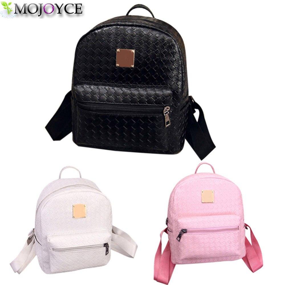 Famous Brand Backpack Women Schoolbag Backpack Kids Leisure Korean Ladies  Knapsack PU Leather Laptop Travel Bags bf5ef941cf671