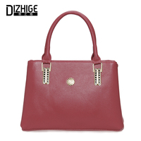 DIZHIGE Women Totes Bag PU Leather Solid Big Portable Bags Soft Ladies Handbag Female Large Capacity