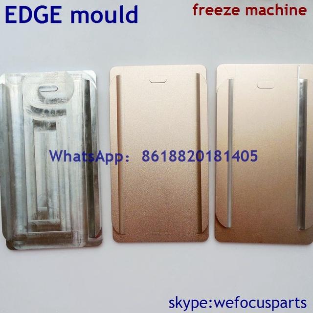 Para samsung note4 edge/borde s6/s6 edge más molde especial para congelar máquina separador